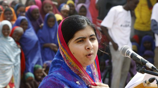Commits to continue Malala's mission of education