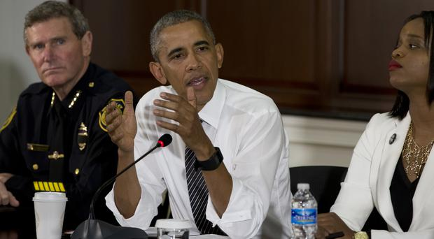 Barack Obama gives his verdict on the White House meeting (AP)