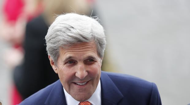 John Kerry is set to discuss proposals in Moscow (AP)