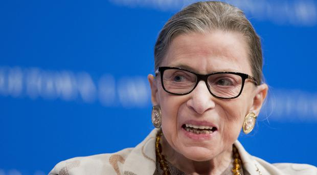Supreme Court Justice Ruth Bader Ginsburg said she regretted her comments (AP)