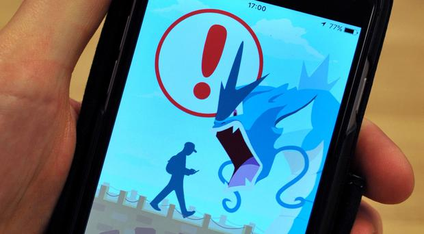 The Pokemon Go app launch screen