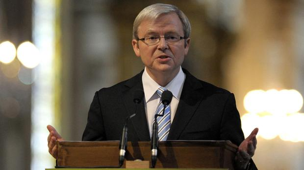 Kevin Rudd wants to succeed Ban Ki-moon as United Nations secretary general