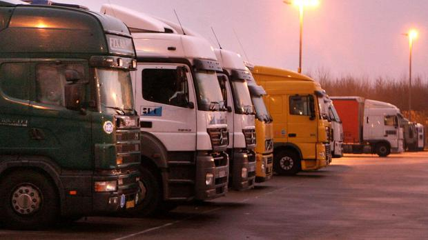Lorry manufacturers have been handed a record fine for price collusion
