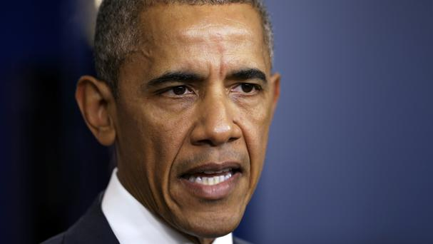 US President Barack Obama wrote an open letter to the nation's law enforcement officers (AP)