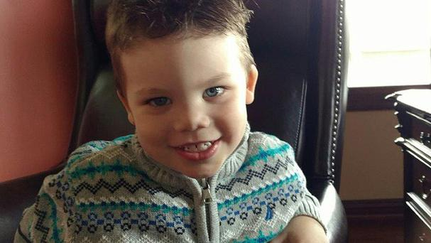 Two-year-old Lane Graves died after being dragged into the water by the reptile
