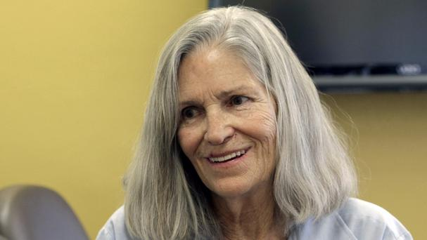 Former Charles Manson follower Leslie Van Houten at the California Board of Parole Hearings (AP)