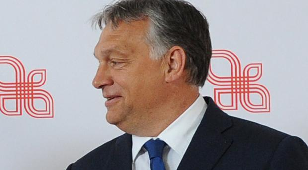 Viktor Orban has often been criticised by the European Union (AP)