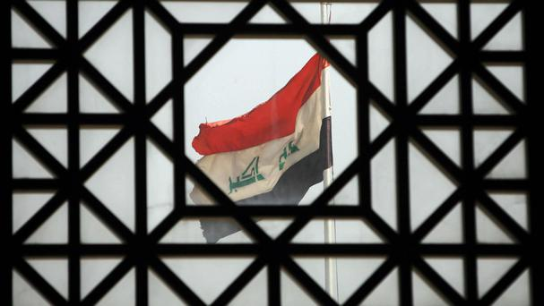 A suicide bomber has targeted a checkpoint in Iraq