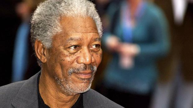 Morgan Freeman's character finds an important letter under the tree in the film