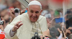 Pope Francis is due to greet thousands of young Cathholics at World Youth Day