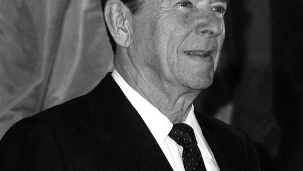 US president Ronald Reagan was wounded by John Hinckley Jr in an assassination attempt outside a Washington hotel in 1981