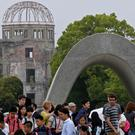 The Hiroshima Peace Memorial Park has become a Pokemon Go location (AP)