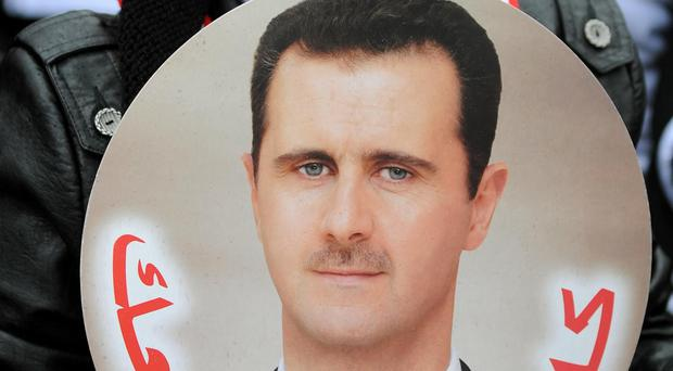 Bashar Assad made the offer as a government offensive encircled rebels in the eastern part of the city of Aleppo