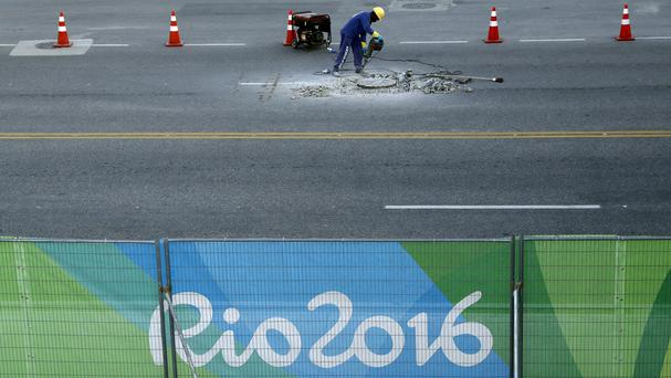 Preparations continue for the Rio Olympics (AP)