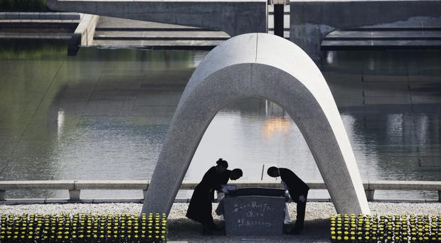 Hiroshima Peace Memorial Park is among the sites to be targeted by Pokemon hunters (AP)