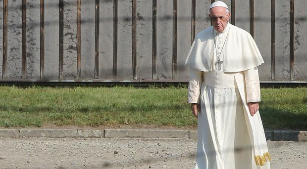 Pope Francis is continuing his visit to Poland (AP)