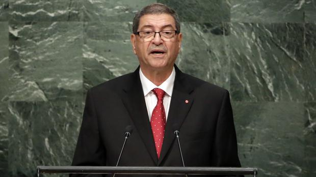 Habib Essid was ousted in a no-confidence vote (AP)