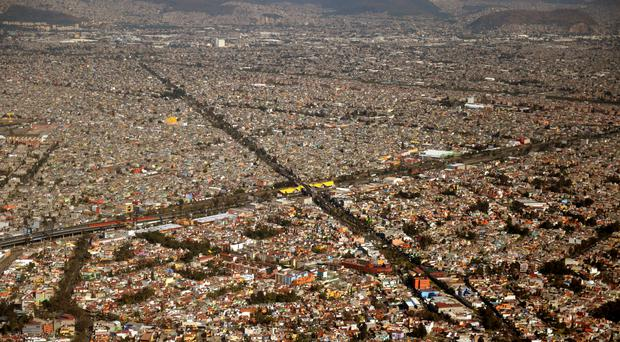 Mexico City residents awoke to cars coated in a light dusting of ash