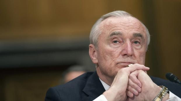 New York City Police Commissioner William Bratton is to step down (AP)