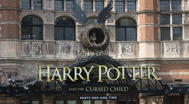 The Palace Theatre in central London is staging Harry Potter And The Cursed Child