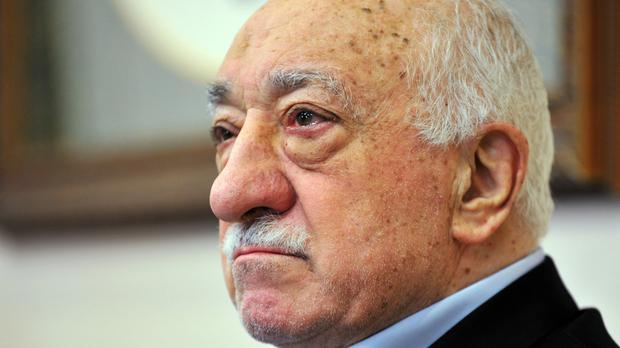 Islamic cleric Fethullah Gulen is resident in the US (AP)