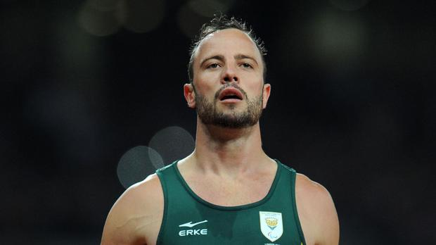 Oscar Pistorius taken to hospital after injuring wrists