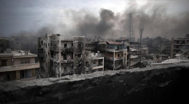 Aleppo is the scene of intense fighting between government forces and rebels