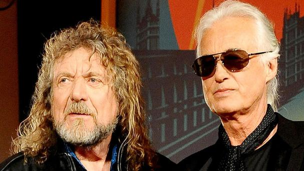 Led Zeppelin stars Robert Plant, left, and Jimmy Page were cleared in a plagiarism dispute but the band lost their bid to recoup defence costs