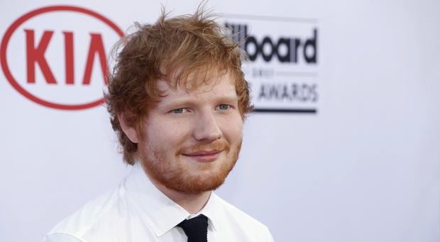 Ed Sheeran is being sued by the family of co-writer of Marvin Gayes Lets Get It On (AP)