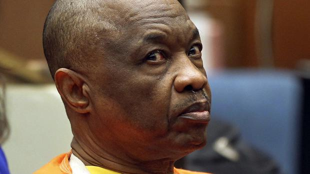 Lonnie Franklin Jr, the so-called Grim Sleeper, has been sentenced to death (AP)