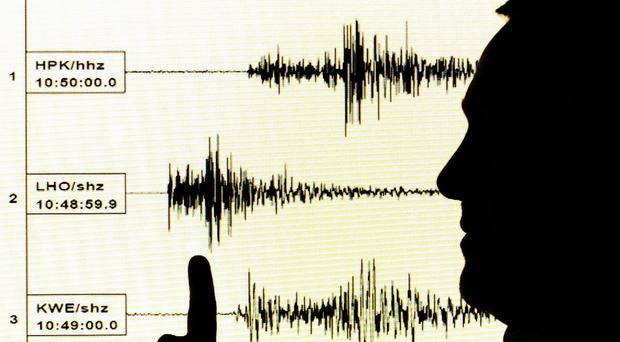 The quake was centred relatively close to the surface at a depth of about six miles