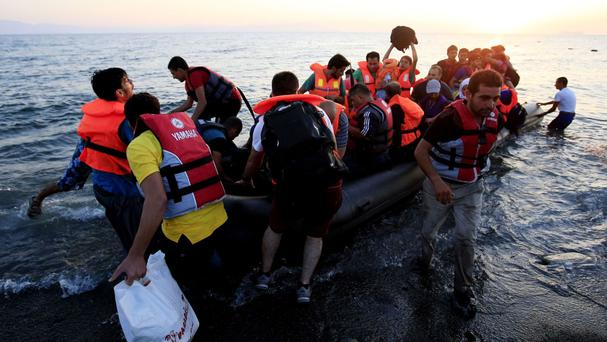 A total of 147 people arrived on three Greek islands in the 24 hours between Tuesday morning and Wednesday morning