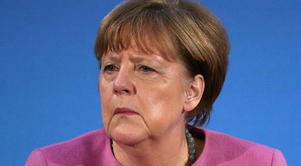 German chancellor Angela Merkel said the EU 'must negotiate on the basis of our interests'