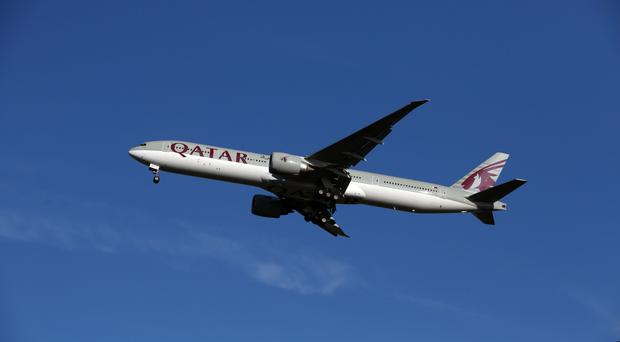 A Doha-bound Qatar Airways plane experienced a technical fault