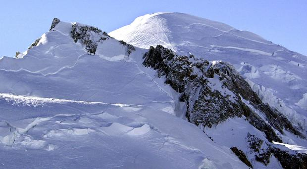 Three bodies have been recovered from Mont Blanc (AP)