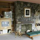 An interior view of the house formerly owned by Ernest Hemingway outside Ketchum, Idaho (AP)