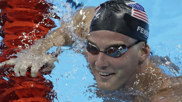 US swimmer James Feigen has finally left Brazil after his passport was returned (AP)