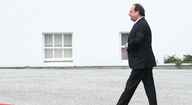 Francois Hollande is yet to announce if he will stand again for the presidency