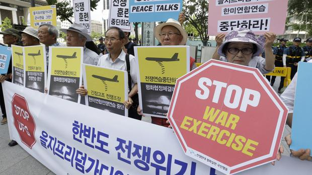 US, South Korea Launch Drills Despite Threats of Nuclear Strike From Pyongyang