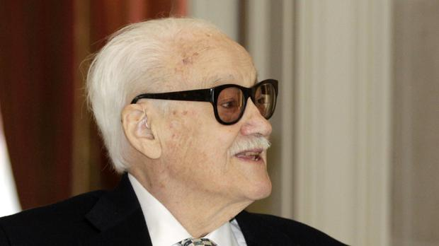 Belgian jazz musician and harmonica player Toots Thielemans, pictured in 2014, has died aged 94 (AP)