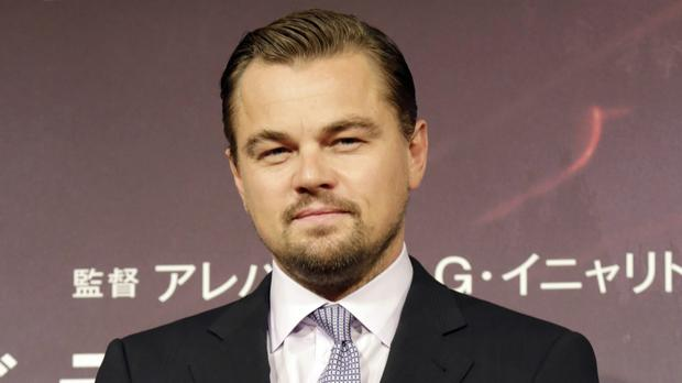 Leonardo DiCaprio and his girlfriend were not injured in the incident (AP)
