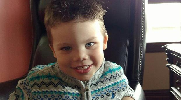 The two-year-old died after being seized by the creature in June