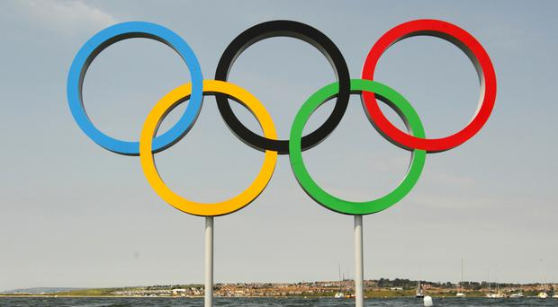 A member of Team Ireland was reprimanded at the Olympic Games for placing inappropriate bets.
