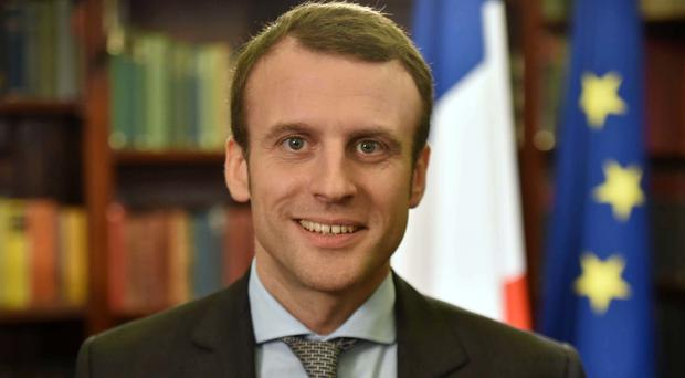 Emmanuel Macron argues that France needs change to stay competitive internationally (BBC/PA)