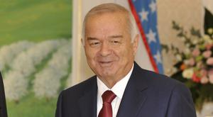 Islam Karimov's daughter said on social media that he had suffered a brain haemorrhage (AP)