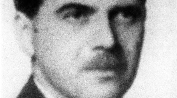 The war criminal Dr Josef Mengele, who delivered body parts to Nazi researchers (AP)