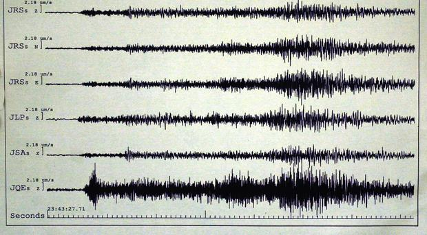 An earthquake has been recorded off the coast of New Zealand