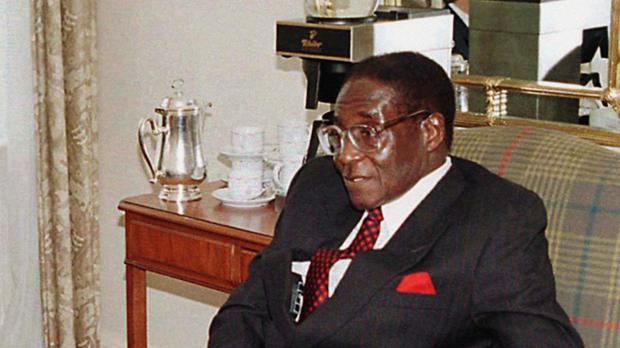 Robert Mugabe has been in power since 1980