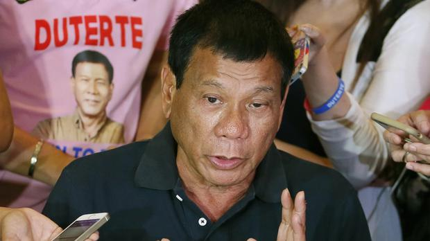 President Rodrigo Duterte insists he is answerable only to the Filipino people (AP)