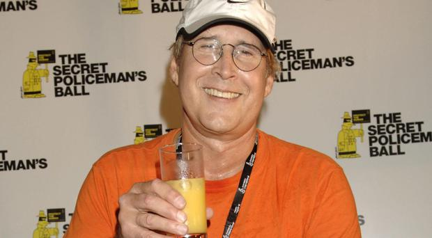 Chevy Chase is at Hazelden Addiction Treatment Centre for a